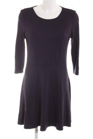 edc Vestido de tela de jersey azul oscuro look casual