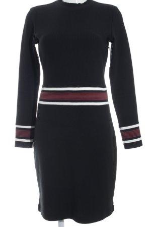 edc Vestido de tela de jersey rayas horizontales look Street-Style