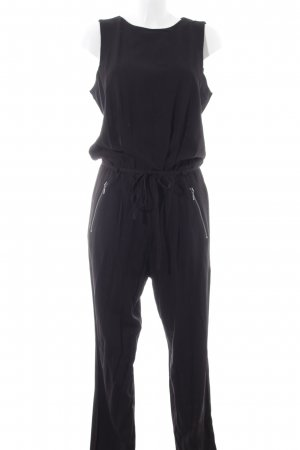 edc Jumpsuit schwarz Business-Look