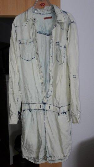 Edc Esprit Onesie natural white-azure cotton