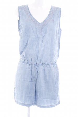edc Jumpsuit azuur casual uitstraling