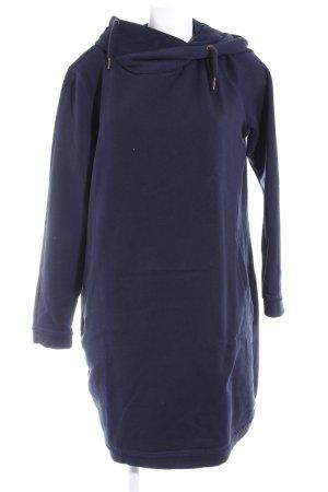 edc Vestido con capucha azul oscuro look casual