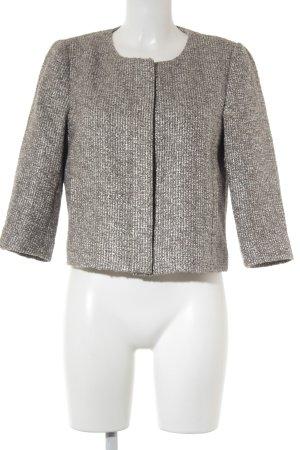 edc Kurz-Blazer graubraun-creme abstraktes Muster Street-Fashion-Look
