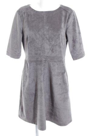 edc Kurzarmkleid grau schlichter Stil