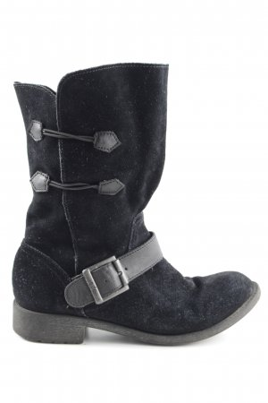 edc Short Boots black casual look
