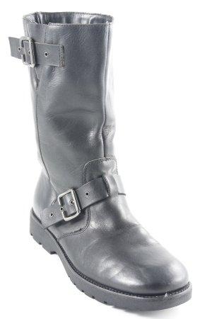 edc Korte laarzen zwart Gesp elementen