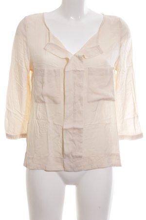 edc Langarm-Bluse creme Casual-Look