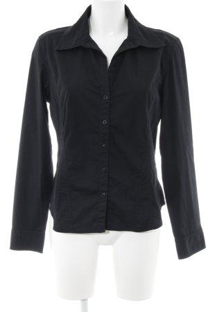 edc Camisa de manga larga negro estilo «business»