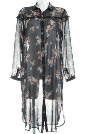 edc Longsleeve Dress flower pattern casual look