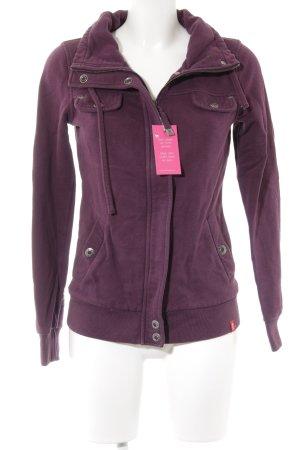 edc Lange Jacke braunviolett Casual-Look