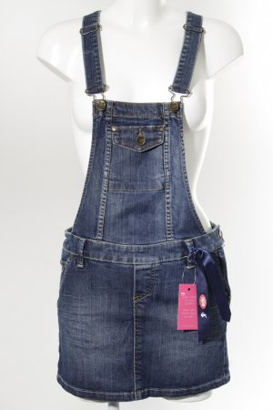 edc Pinafore Overall Skirt blue casual look
