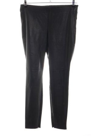 edc Pantalone in pelle nero stile casual