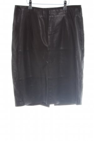 edc Leather Skirt black casual look