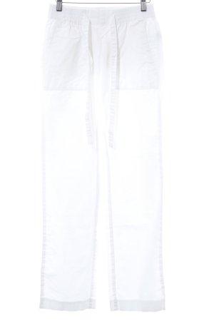edc Linnen broek wit casual uitstraling