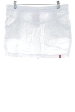 edc Linnen rok wit simpele stijl