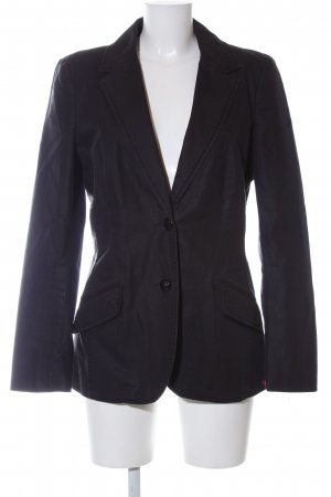 edc Long-Blazer schwarz Casual-Look