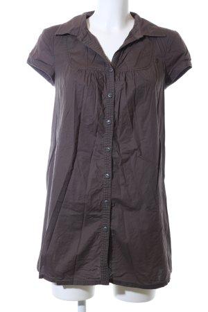 edc Blusa larga marrón look casual