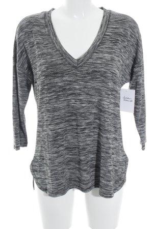 edc Longshirt weiß-grau Casual-Look