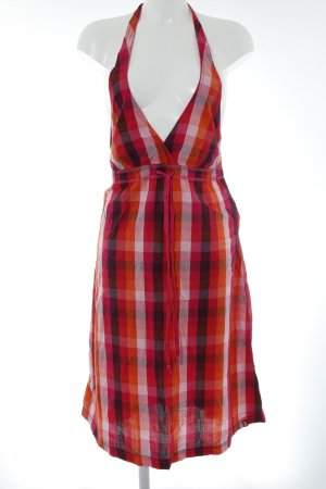 edc Halter Dress check pattern beach look