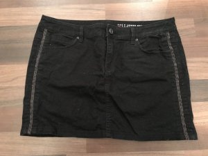edc by Esprit Gonna di jeans nero-argento