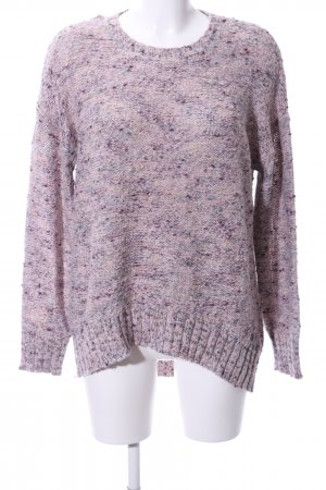 edc Oversized Pullover lila meliert Casual-Look
