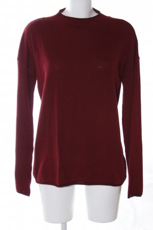 edc Oversized trui rood casual uitstraling