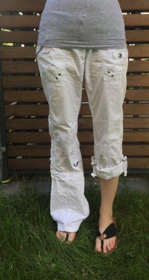 Edc Esprit Pantalón blanco Algodón