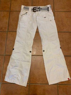edc by Esprit Cargo Pants natural white-white cotton
