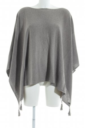 edc Poncho light brown flecked casual look