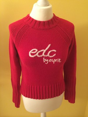 edc Pullover rot Gr. XS