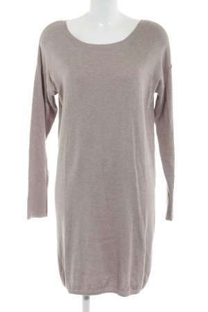 edc Sweater Dress beige flecked casual look