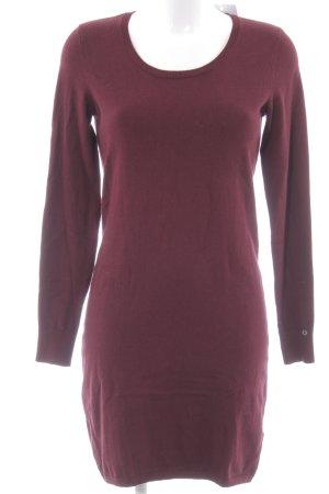 edc Pulloverkleid bordeauxrot Casual-Look
