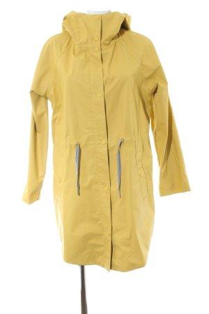 edc Impermeabile giallo pallido stile casual