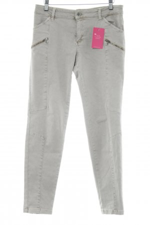 edc Drainpipe Trousers beige-silver-colored casual look