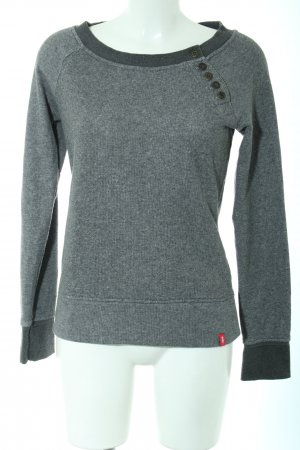 edc Crewneck Sweater light grey flecked casual look