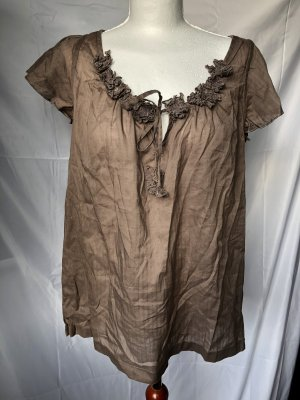 edc by Esprit Shirt Tunic light brown-brown