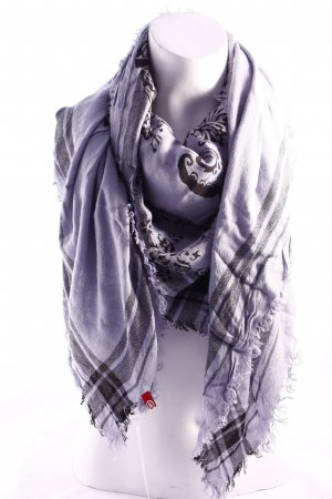 Edc Esprit Scarf slate-gray-black casual look