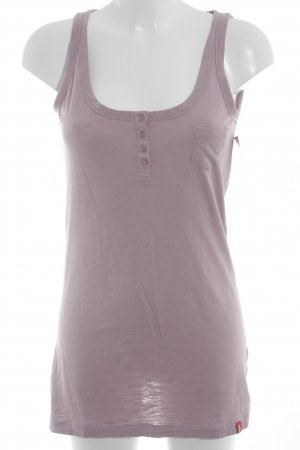 edc schulterfreies Top altrosa-rosa meliert Casual-Look