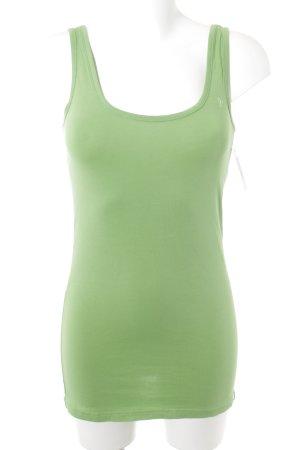 edc Off the shoulder top groen-lichtgroen casual uitstraling