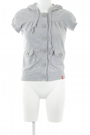 edc Shirt Jacket light grey casual look