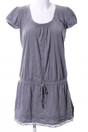 edc Shirtkleid hellgrau Casual-Look