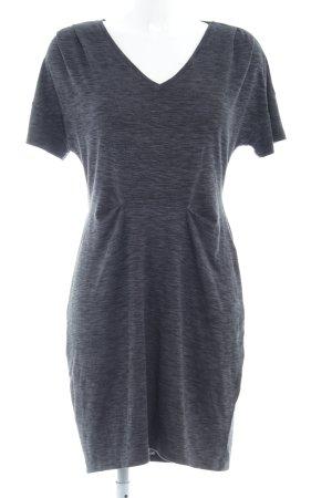 edc Robe t-shirt gris foncé moucheté style décontracté
