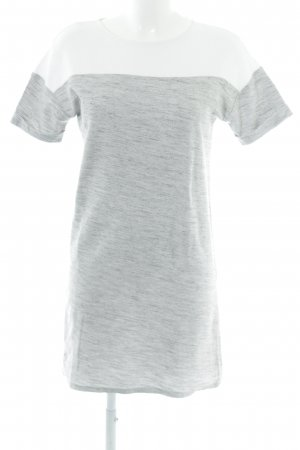 edc Shirt Dress grey-white flecked casual look