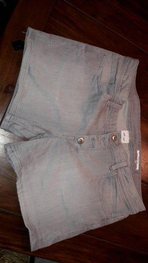 Edc Esprit Pantalón corto de tela vaquera gris