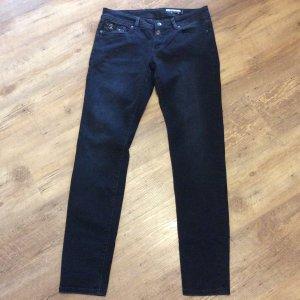 edc Stretch jeans donkerblauw