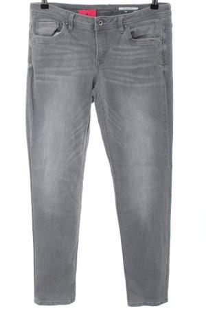 edc Jeans slim gris clair style décontracté