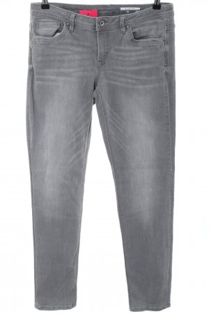 edc Slim Jeans light grey casual look