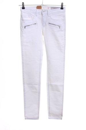 edc Slim Jeans weiß Casual-Look