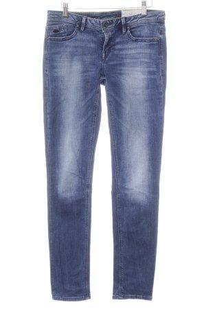 edc Slim jeans donkerblauw casual uitstraling