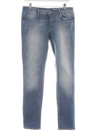 edc Jeans slim bleu clair style déchiré